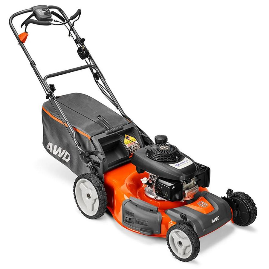 Husqvarna HU800Awdx/Bbc 190cc 22-in Self-Propelled All-Wheel Drive Commercial/Residential Gas Lawn Mower with Mulching Capability