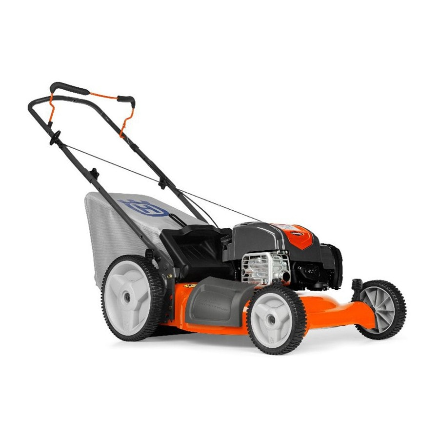 Shop Husqvarna Lc121p 163cc 21 In Gas Push Lawn Mower With