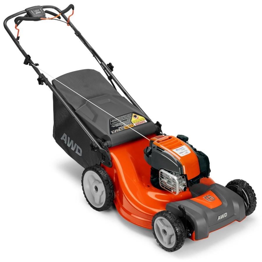 Husqvarna Lc221Ah 163cc 21-in Self-Propelled All-Wheel Drive Residential Gas Lawn Mower Mulching Capable
