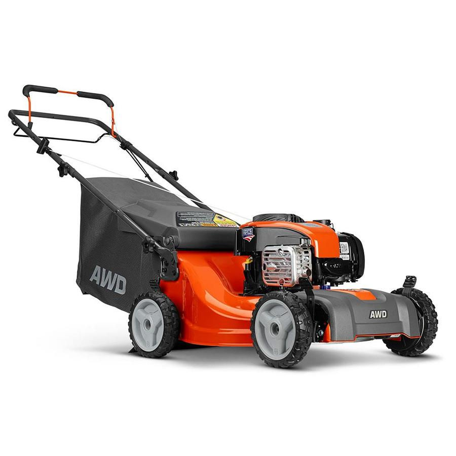 Husqvarna Lc221A 163cc 21-in Self-Propelled All-Wheel Drive Residential Gas Lawn Mower Mulching Capable