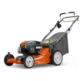 Husqvarna Lc 221fhe 163 Cc 21 In Self Propelled Gas Lawn Mower With