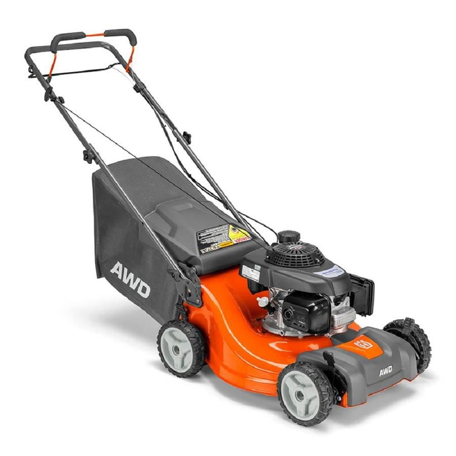 Husqvarna L 221A 160-cc 21-in Self-propelled Gas Lawn ...