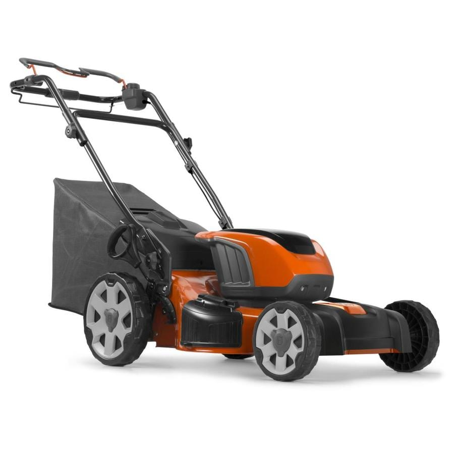 Husqvarna Le 221r 40 Volt Brushless Lithium Ion 21 In Cordless Electric Lawn Mower Batteries