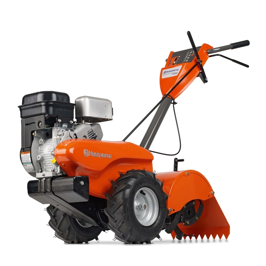 Husqvarna 205-cc 14-in Rear-Tine Tiller with Briggs & Stratton Engine (CARB)