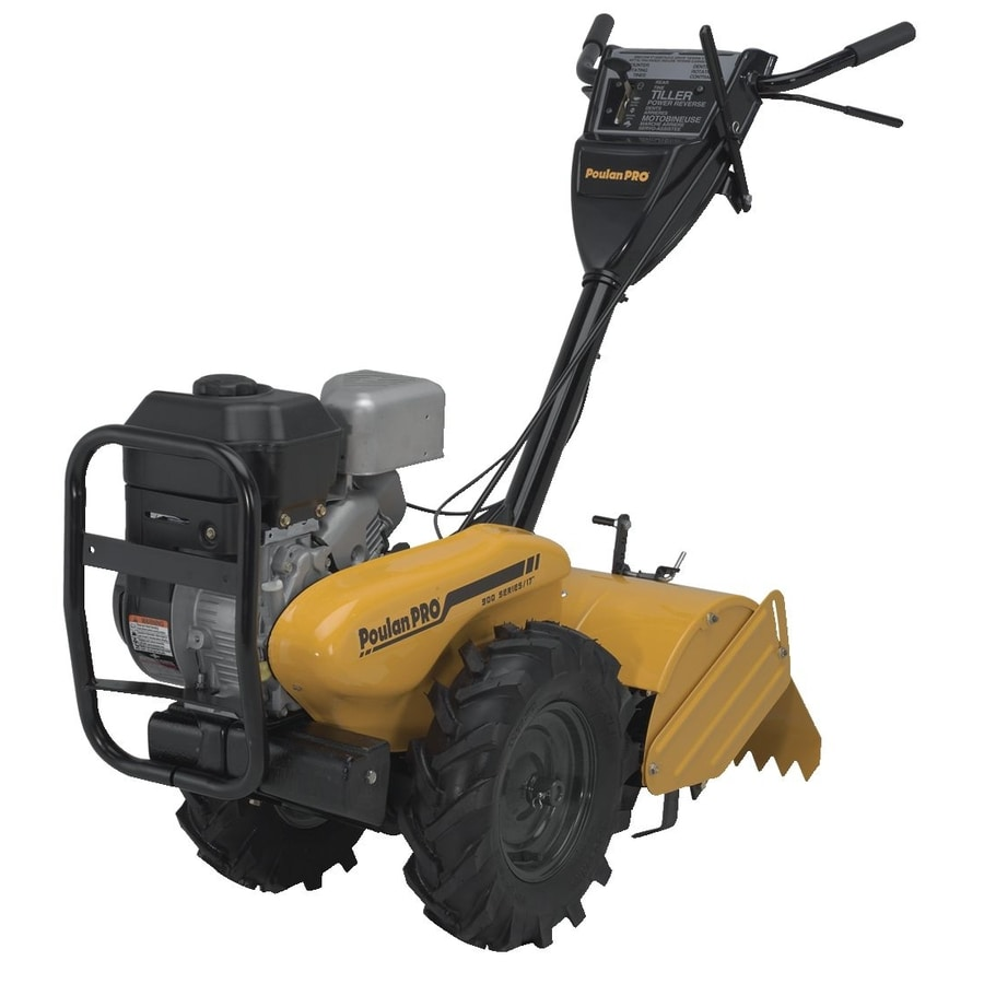 Poulan Pro 208-cc 17-in Rear-Tine Tiller with Lct Engine
