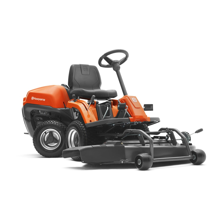 Husqvarna Hydrostatic 42-in Riding Lawn Mower with Briggs & Stratton Engine and Mulching Capability