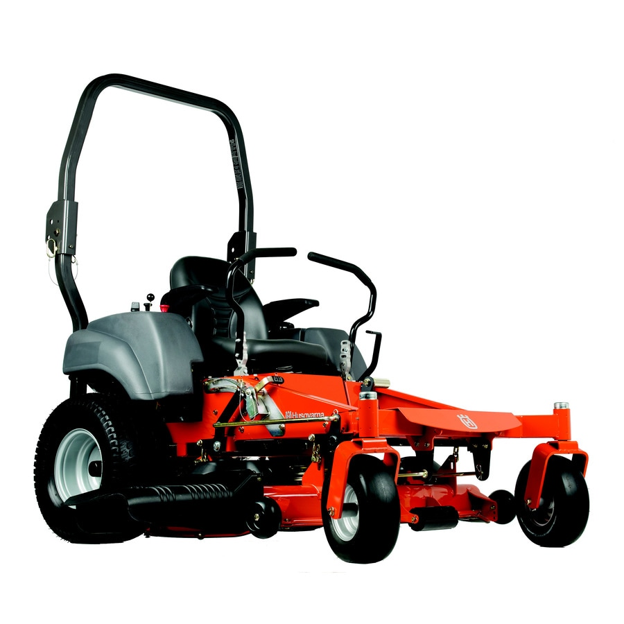 Husqvarna MZ5424 24-HP V-Twin Dual Hydrostatic 54-in Zero-Turn Lawn Mower with Kawasaki Engine