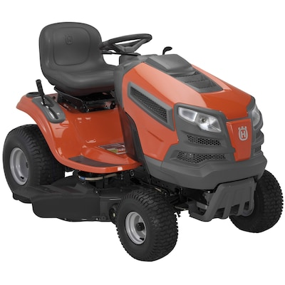 Husqvarna 19-HP Automatic 42-in Riding Lawn Mower with
