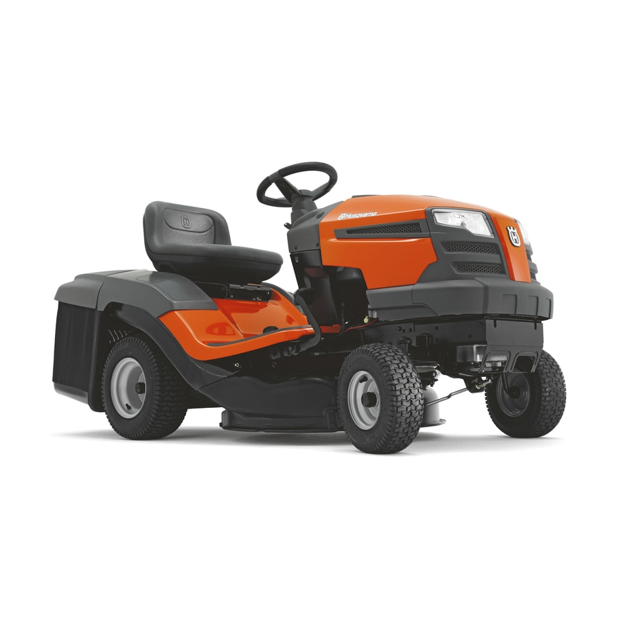 Husqvarna 17.5-HP Manual/Gear 30-in Riding Lawn Mower with Briggs & Stratton Engine