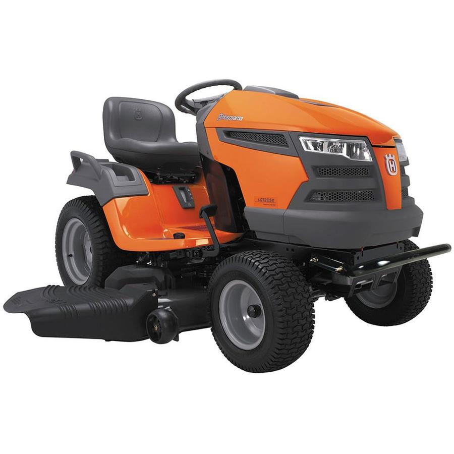 Husqvarna Lgt2654Ca 26-HP V-Twin Hydrostatic 54-in Garden Tractor (CARB)