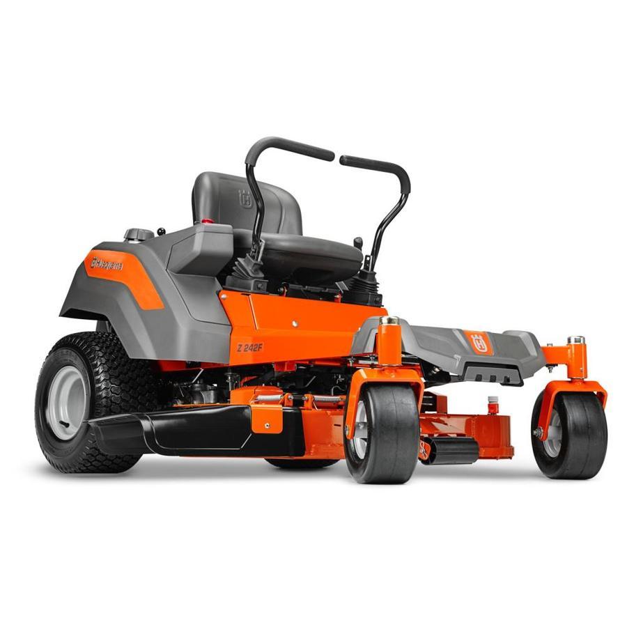 Husqvarna Z242F 21.5-HP V-Twin Dual Hydrostatic 42-in Zero-Turn Lawn Mower