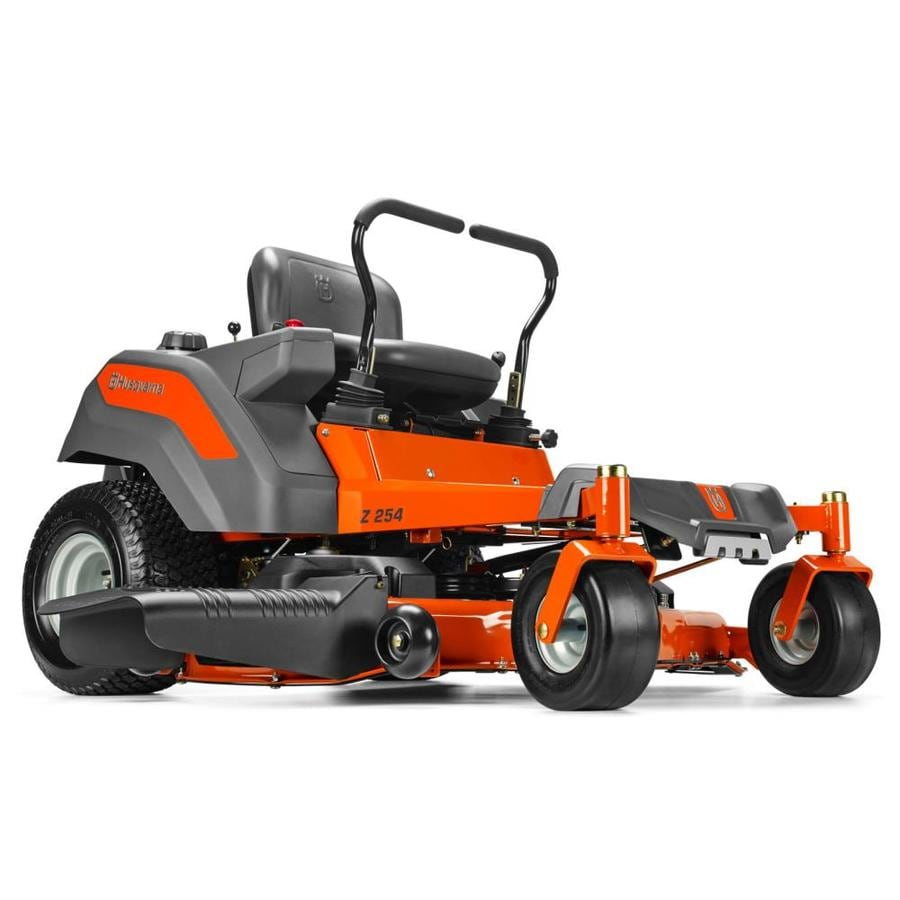 zero turn mowers lowes. husqvarna z254 23-hp v-twin dual hydrostatic 54-in zero-turn zero turn mowers lowes e