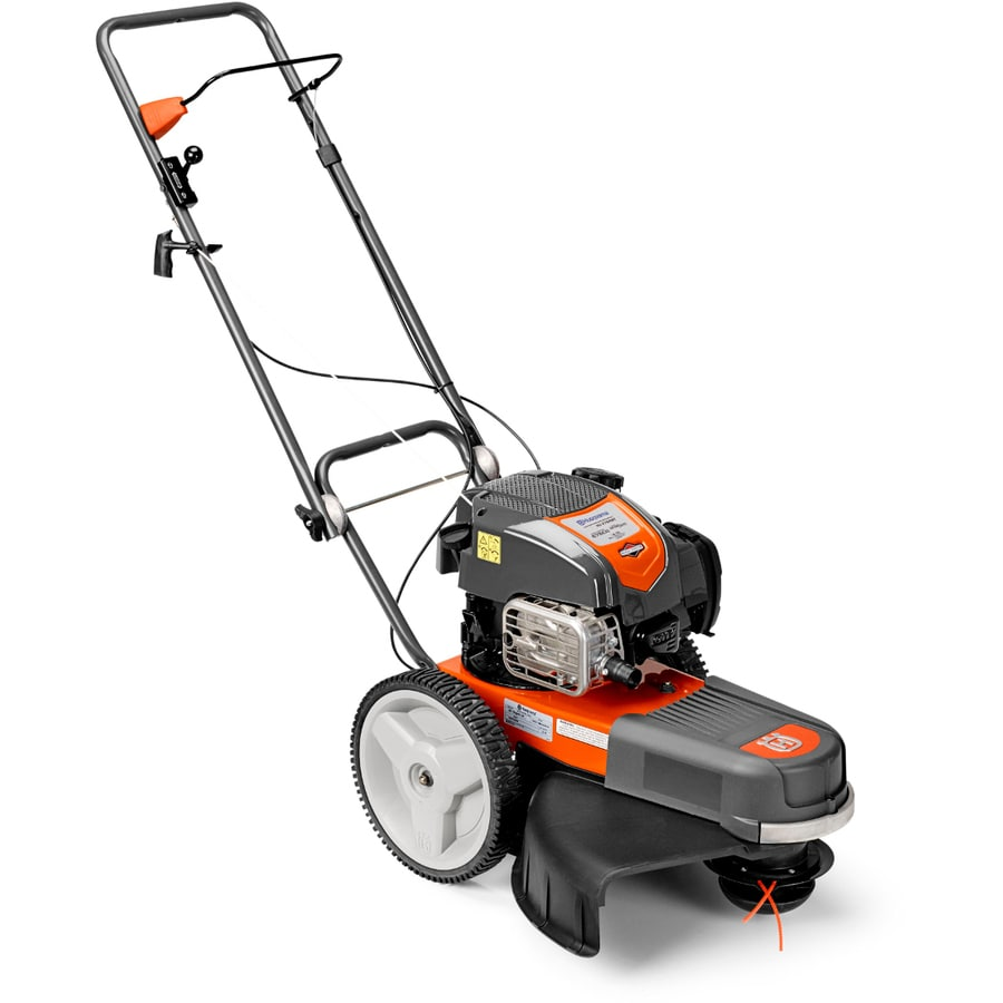 Husqvarna 163cc 22 In Walk Behind String Trimmer Mower At Lowes Com