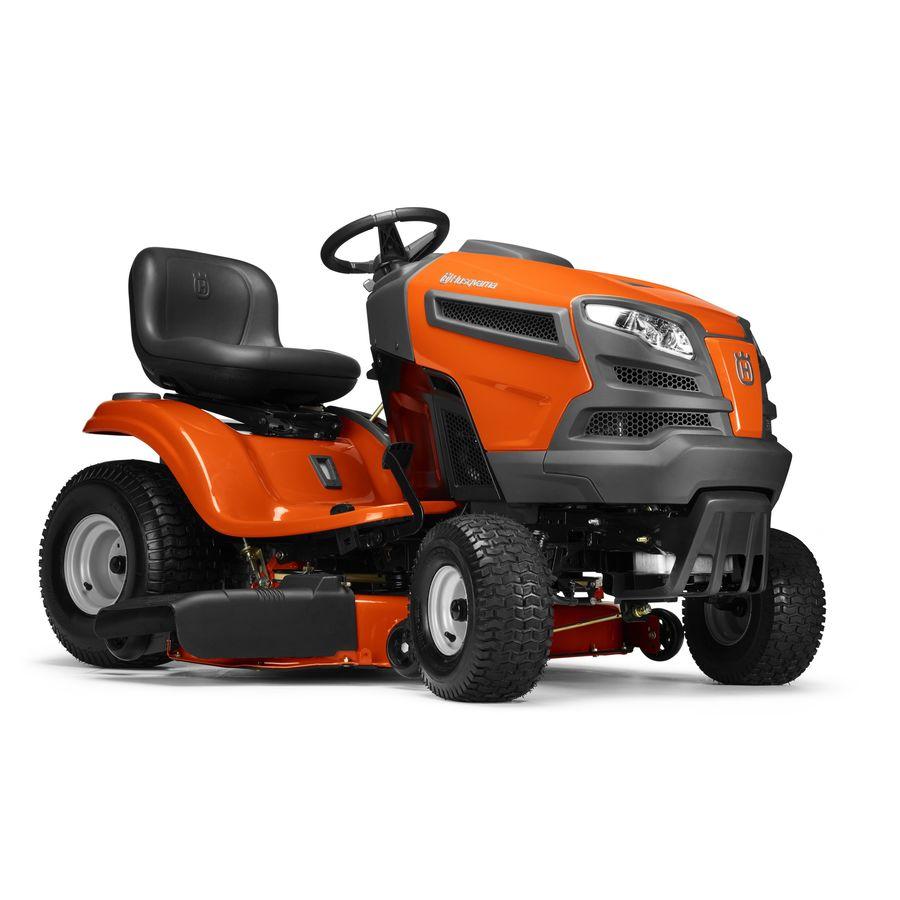 Husqvarna Tractor At Lowe S 44094 : Shop husqvarna yth v carb hp twin hydrostatic