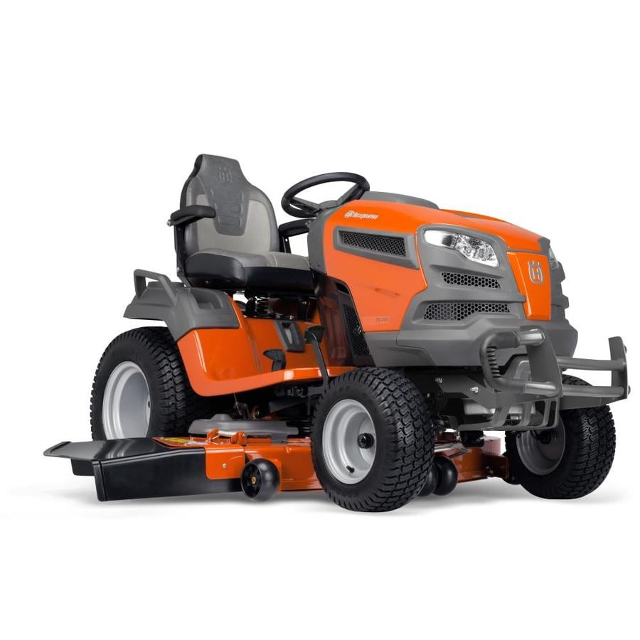 Husqvarna TS354D 25-HP V-twin Hydrostatic 54-in Gas Riding Lawn Mower
