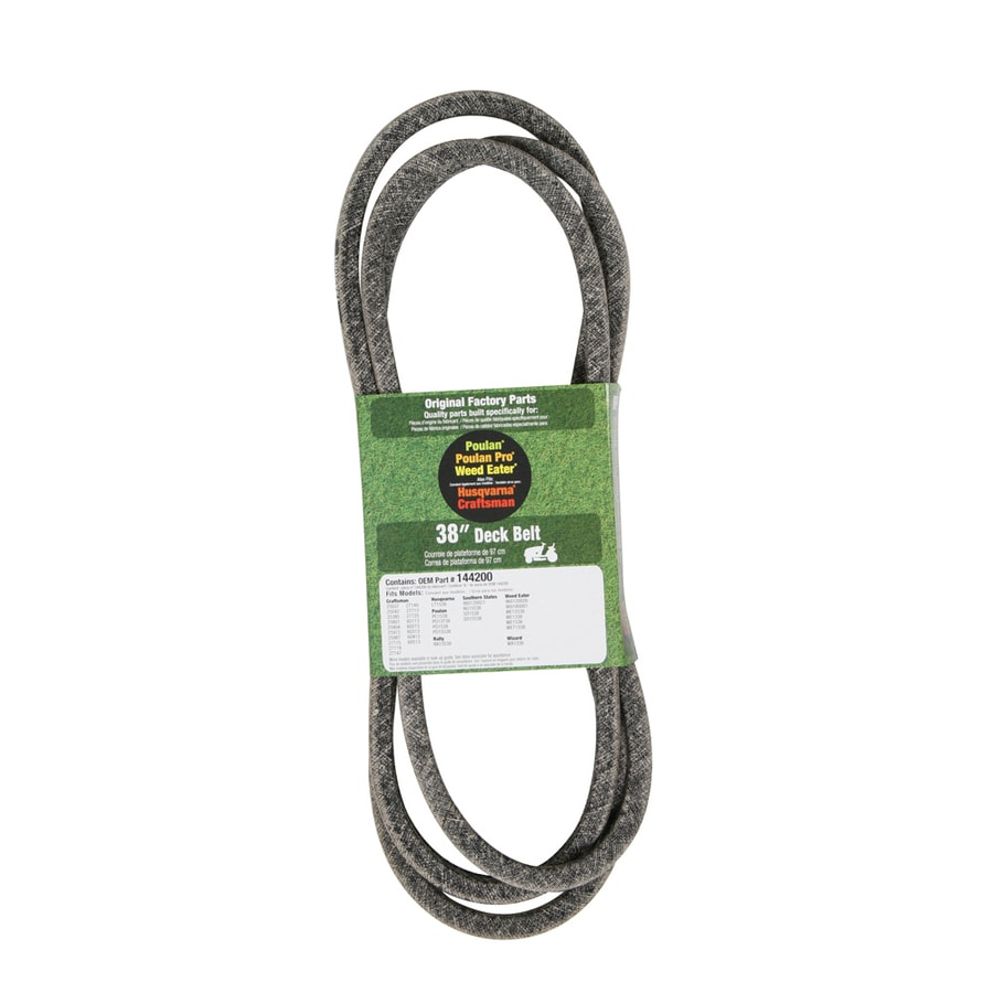 Husqvarna 38-in Deck Belt for Riding Lawn Mowers