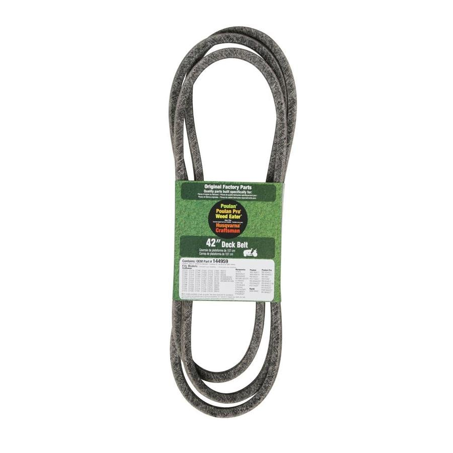 Husqvarna 42-in Deck Belt for Riding Mower/Tractors at Lowes com