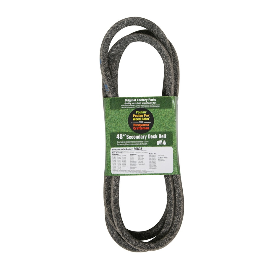 Husqvarna 48-in Deck Belt for Riding Lawn Mowers