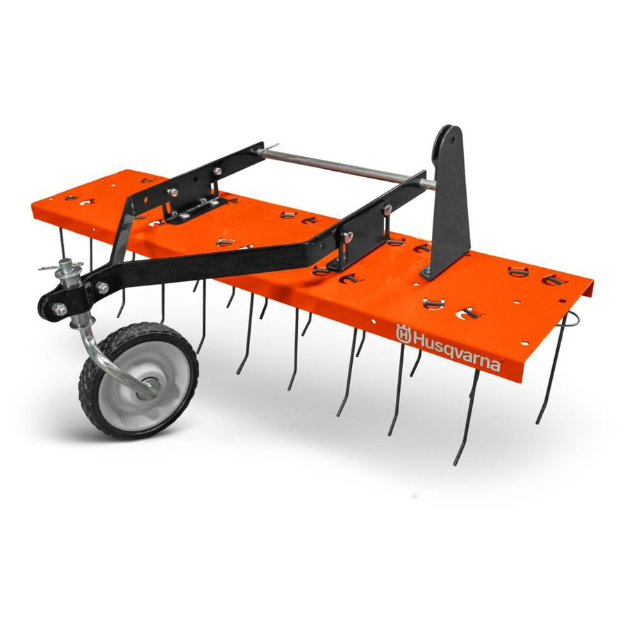 Shop Husqvarna Front Mount Lawn Dethatcher At Lowes Com