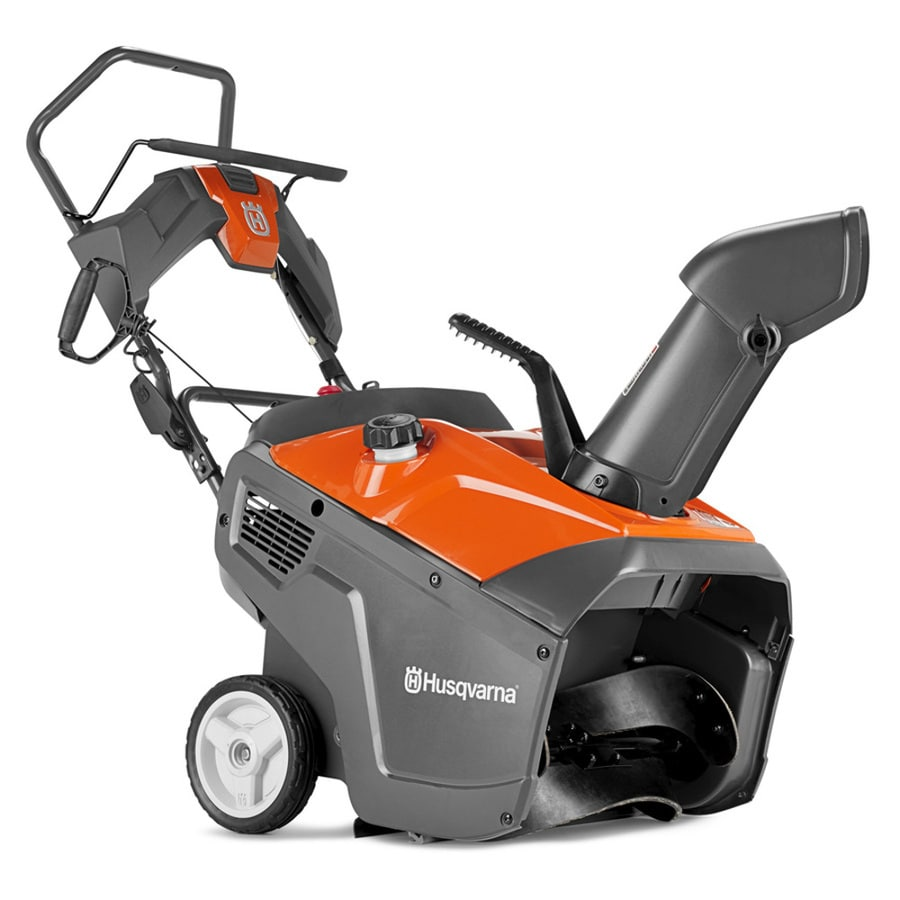 Husqvarna ST 131 208-cu cm 21-in Single-stage Push-button Electric Start Gas Snow Blower