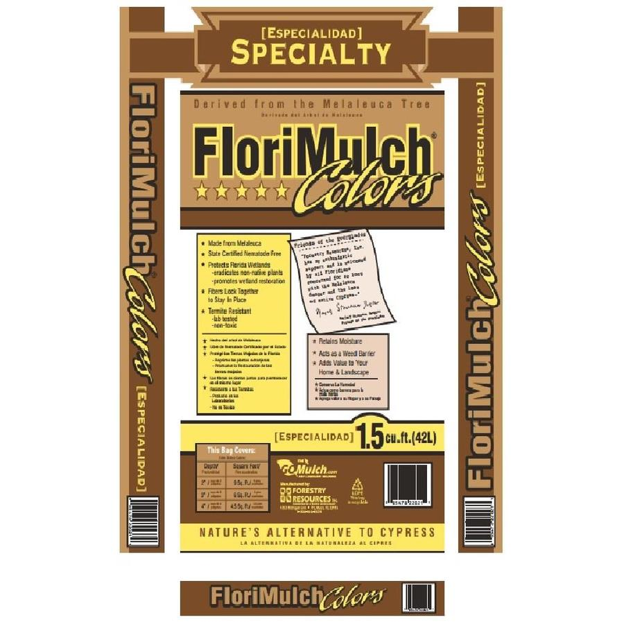 Forestry Resource Landscape Melaleuca 1.5-cu ft Brown Bagged Mulch
