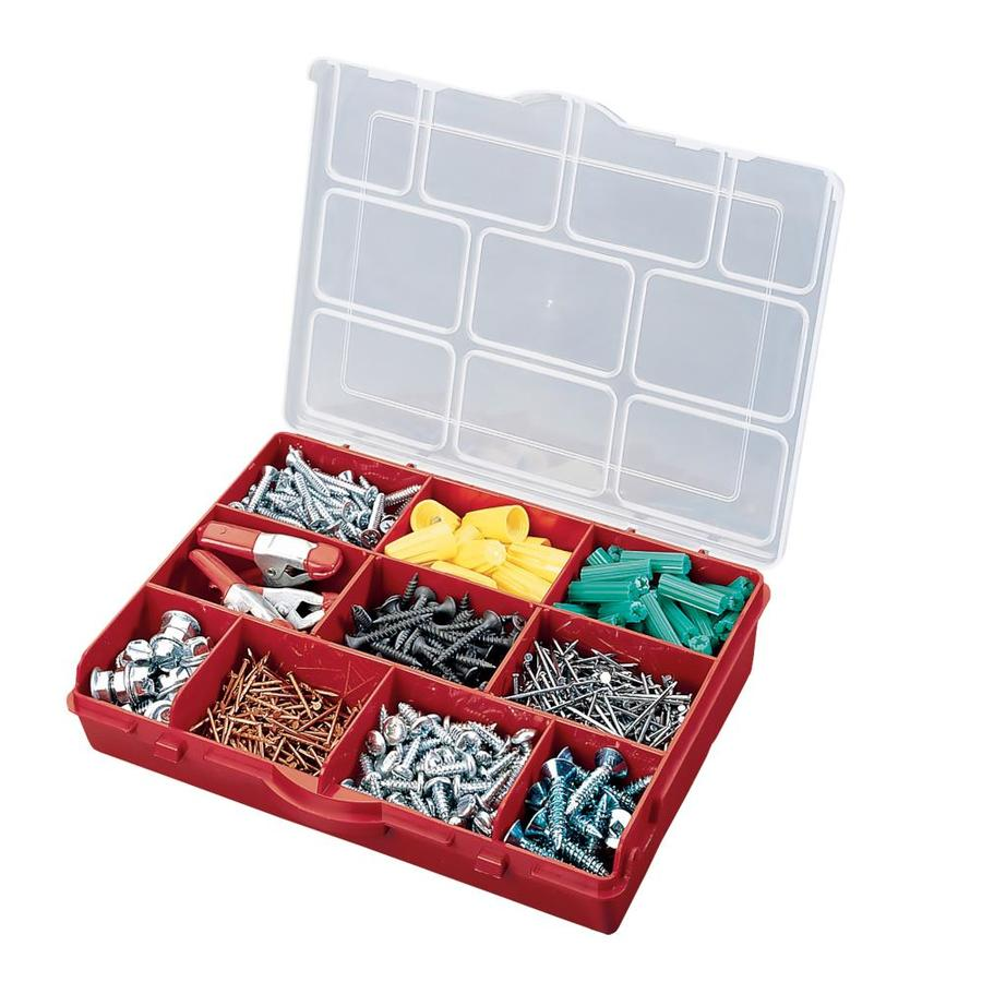 Stack-On Compartment Storage Box