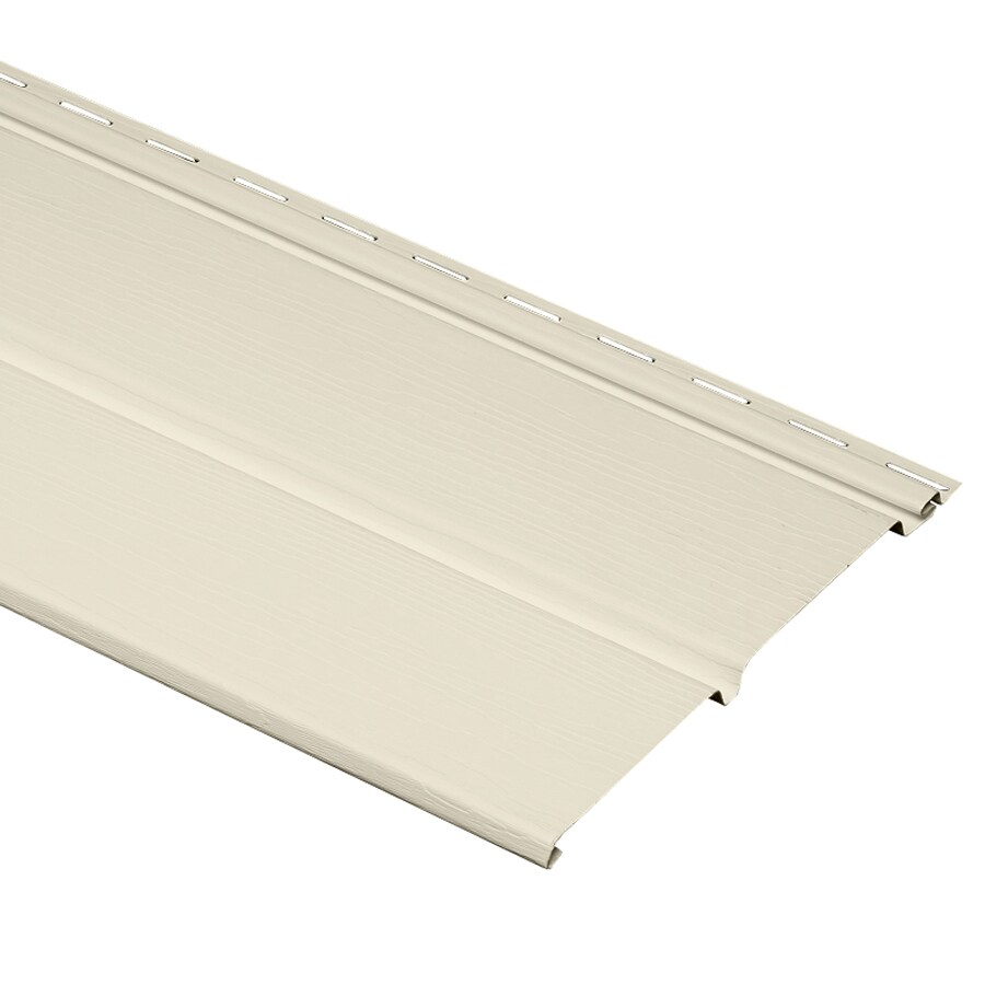 Shop Durabuilt 10 In X 144 In 930 Cream Vinyl Solid Soffit