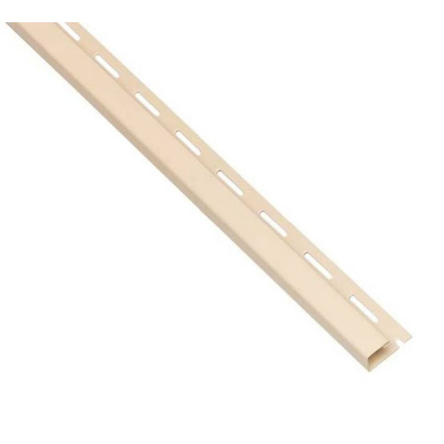 0.625-in x 150-in Almond J-Channel Vinyl Siding Trim