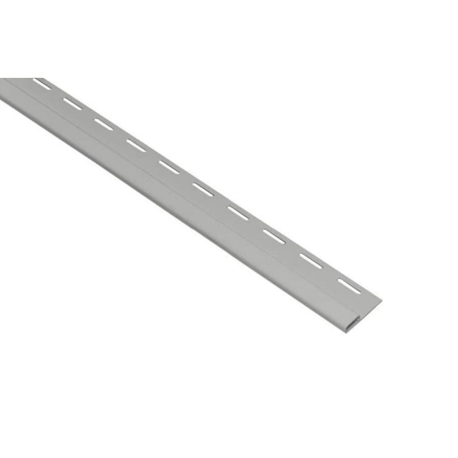 0.375-in x 150-in Gray Undersill Vinyl Siding Trim
