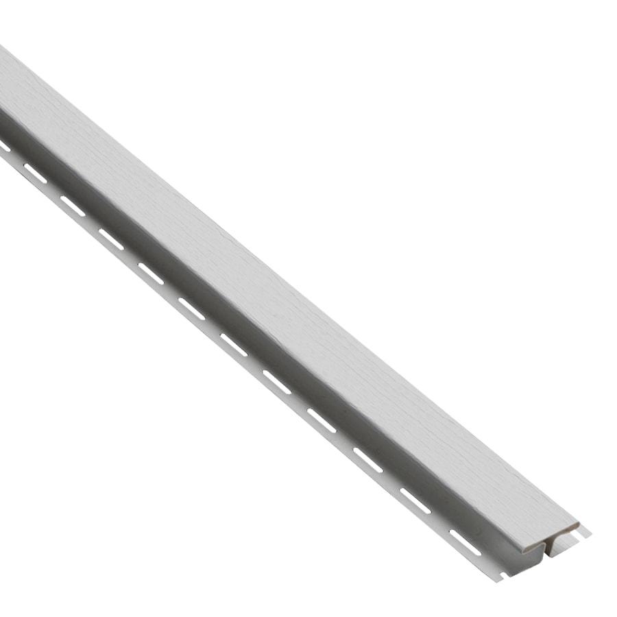Durabuilt 0.625-in x 150-in Gray H-Trim Vinyl Siding Trim