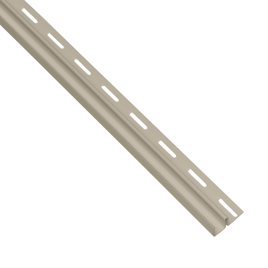Georgia-Pacific 0.5-in x 150-in Tan F-Trim Vinyl Siding Trim