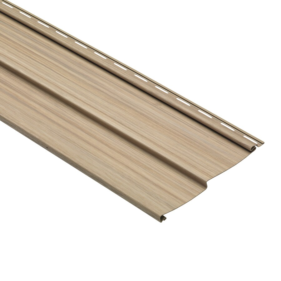 Traditional Maple Vinyl Siding Panel 8-in x 150-in