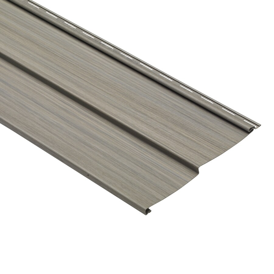 Traditional Sycamore Vinyl Siding Panel 10-in x 120-in