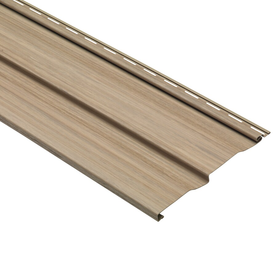 Dutch Lap Maple Vinyl Siding Panel 9-in x 121-in