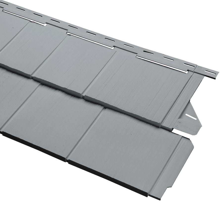 Wedge Vinyl Siding Panel 14-in x 67.5-in