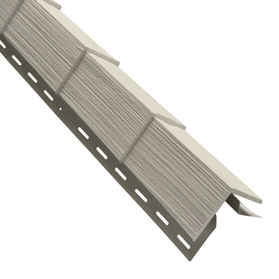 3.5-in x 29.125-in Almond Outside Corner Post Vinyl Siding Trim
