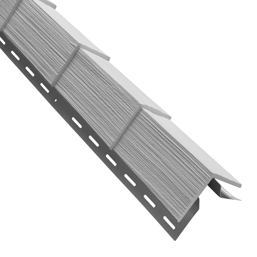 3.5-in x 29.125-in Gray Outside Corner Post Vinyl Siding Trim