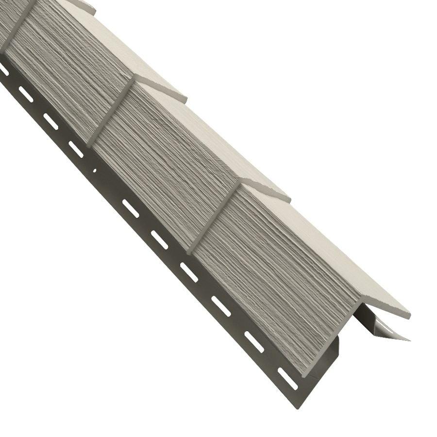 3.5-in x 29.125-in Tan Outside Corner Post Vinyl Siding Trim