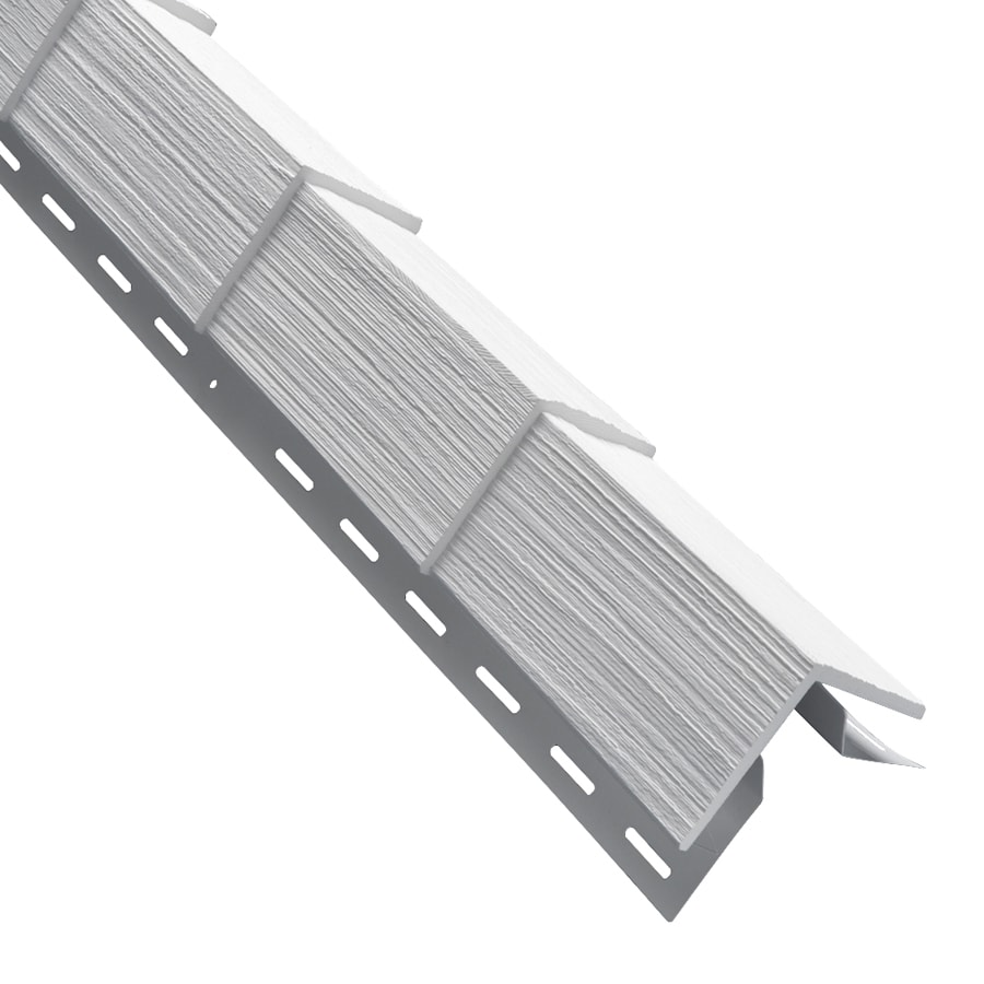 Georgia-Pacific 3.5-in x 29.125-in White Outside Corner Post Vinyl Siding Trim