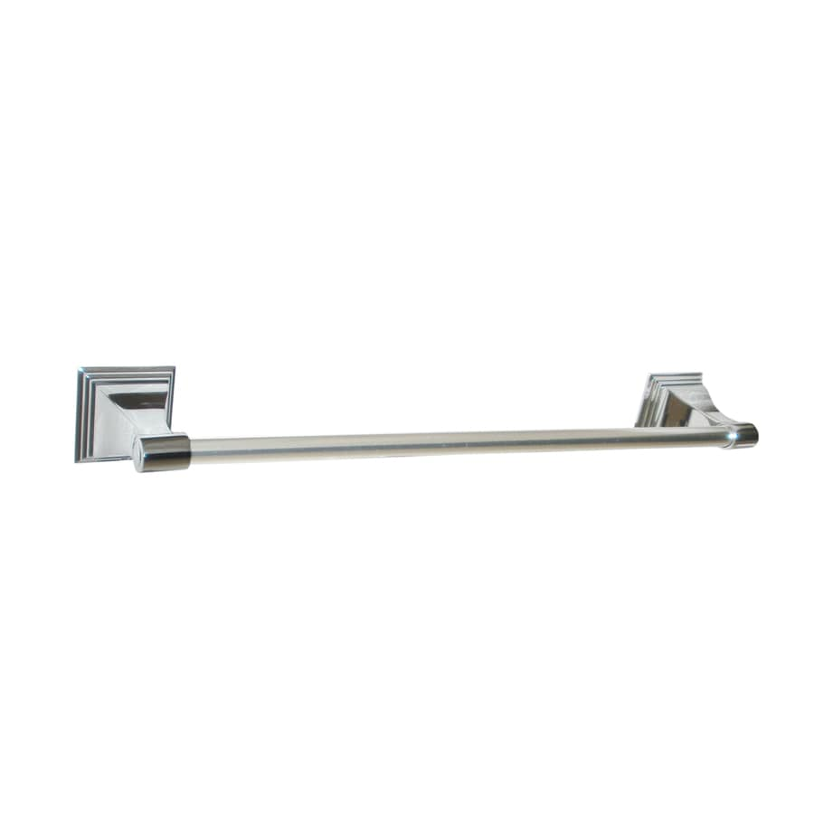 ARISTA Leonard Chrome Single Towel Bar (Common: 18-in; Actual: 18-in)