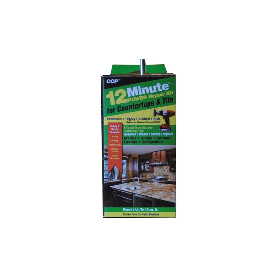 Shop CCP Minute Countertop Tile Repair Restorer At Lowescom - Ceiling tile repair kit