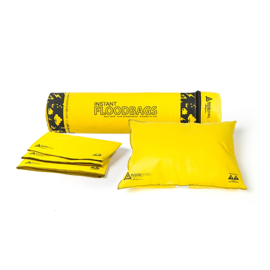 Flood Avert 4-Pack 17.5-in L x 4-in W Self-Inflating Flood Bags