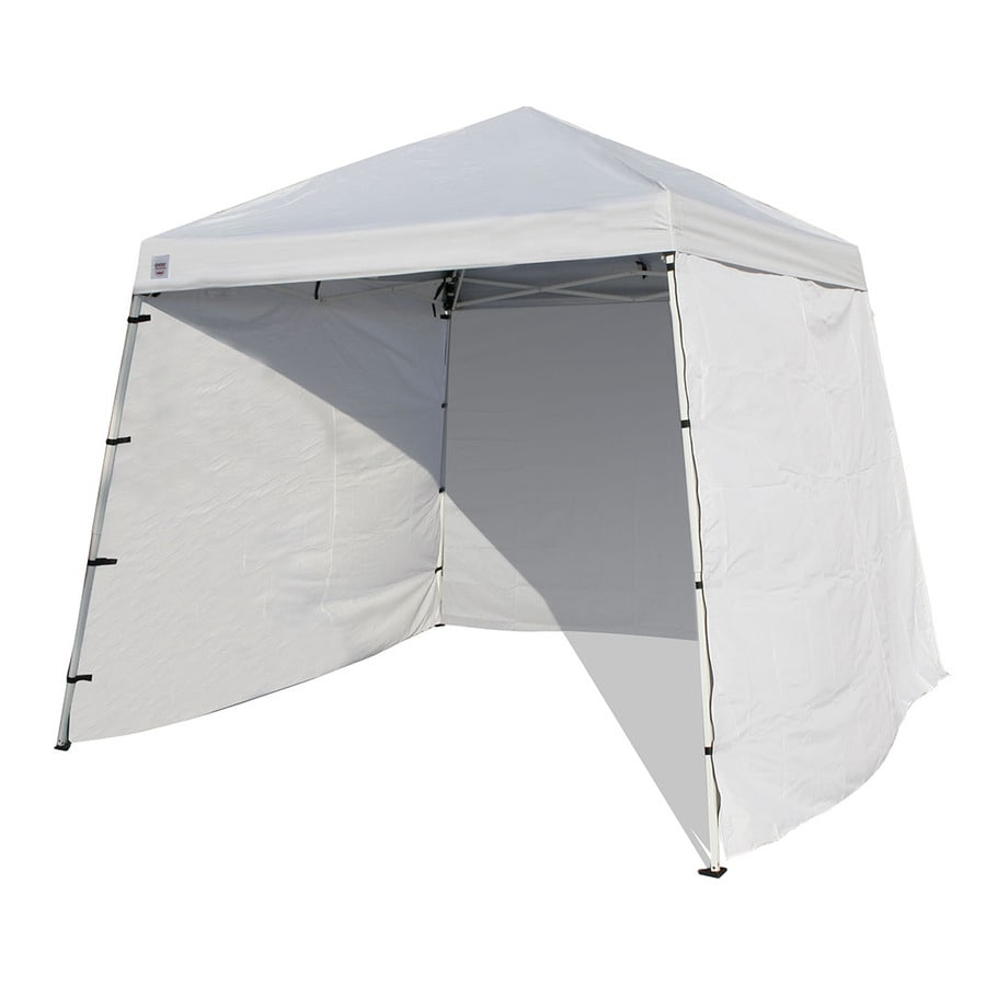 Quik Shade White Canopy Wall Panels