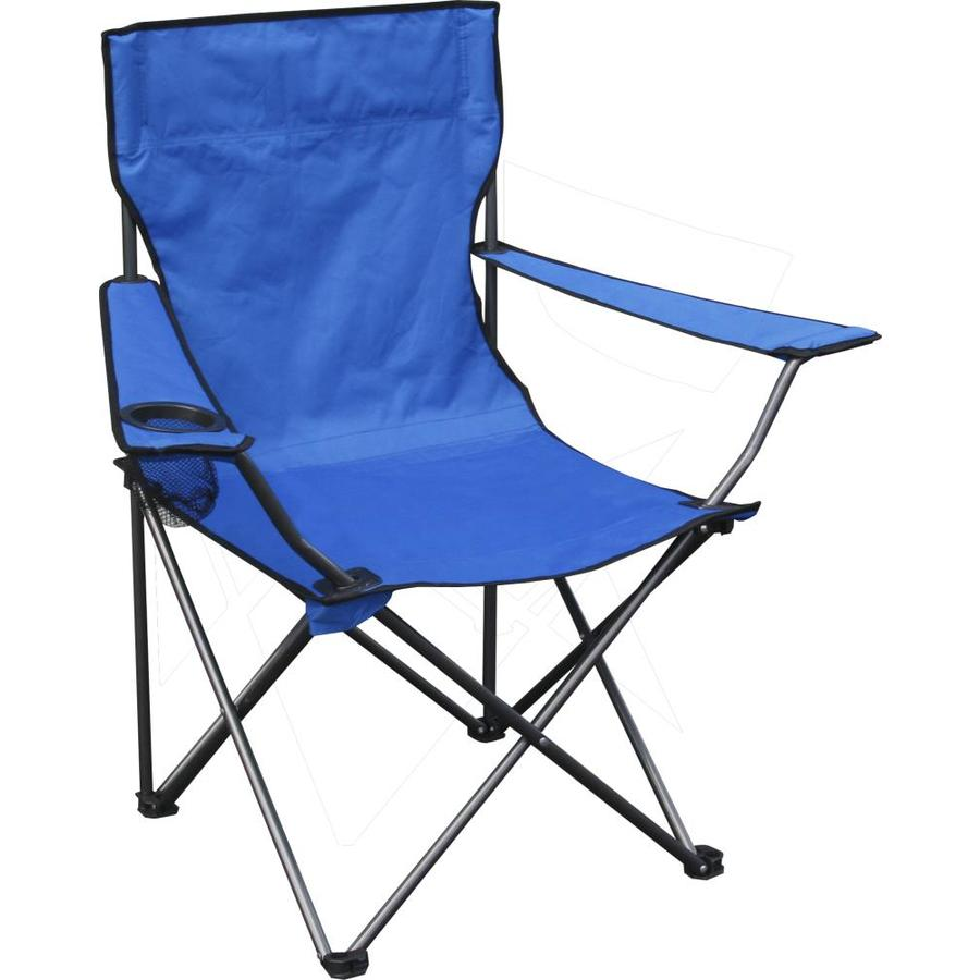 Quik Shade Blue Folding Camping Chair At Lowes Com