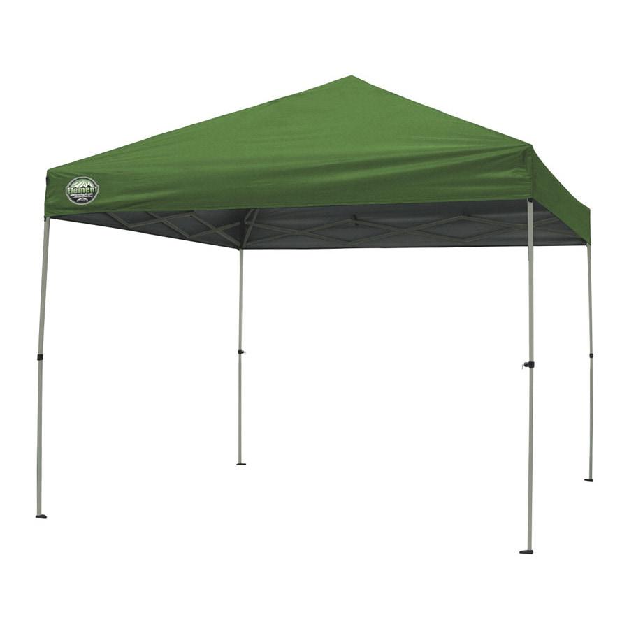 Shade Tech 8-ft W x 10-ft L Retangular Green Steel Pop-Up Canopy