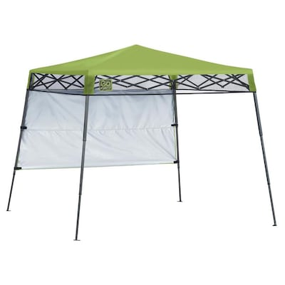 Quik Shade 7 08-ft L Square Bright Green Pop-Up Canopy at