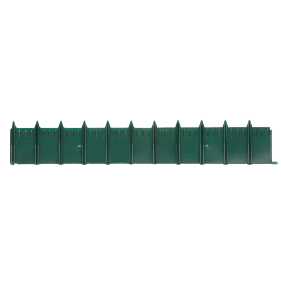 Blue Hawk 3-ft Green Landscape Edging Section