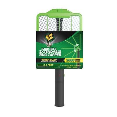 BLACK FLAG  09-Watt Battery-powered Bug zapper racket at