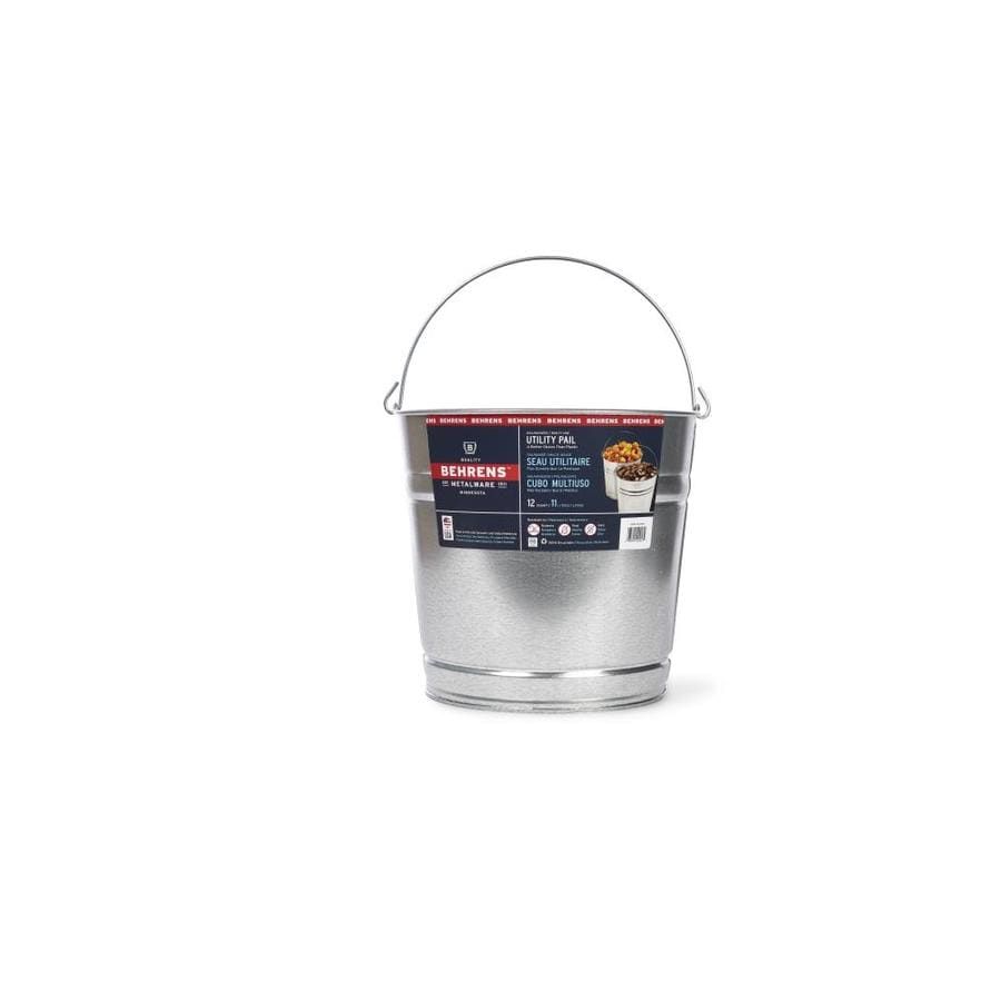 Behrens 12 Quart Residential General Bucket At Lowes Com