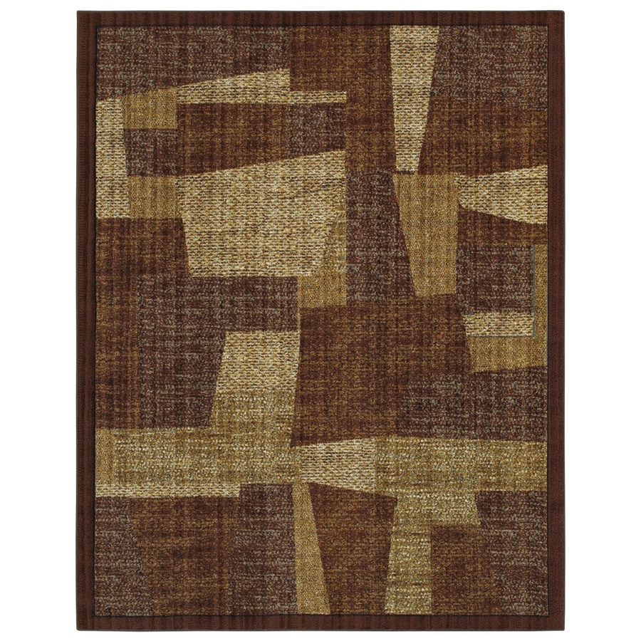 Mohawk Home River Bed Brown Area Rug
